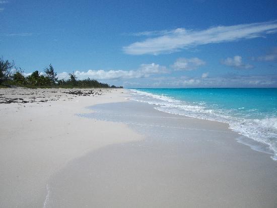 Grand Isle Resort & Spa : deserted beach off main road