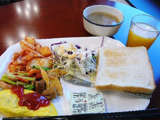 Toyoko Inn Busan Seomyeon: 朝ごはん(バイキング)