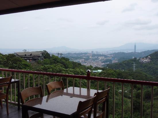 Maokong mountain: 猫空の茶芸館