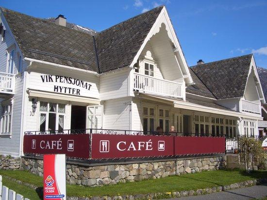 Eidfjord Municipality, Norway: Outside of the pensjonat
