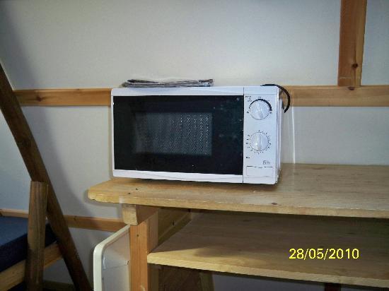 Humble Bee Farm: microwave