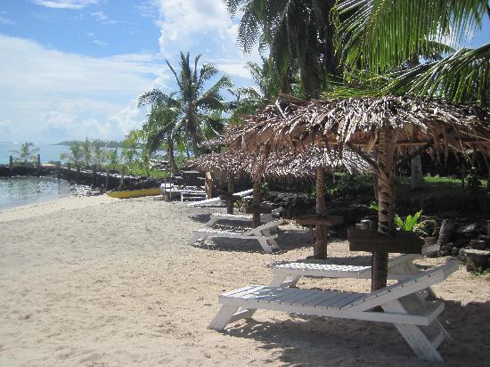 Va-i-Moana Seaside Lodge: Private beach