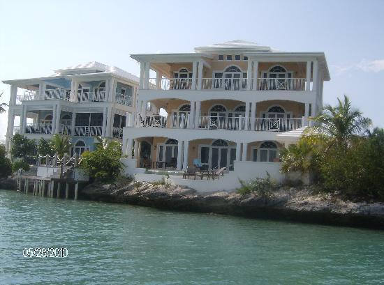 February Point Resort: Harbour Villa from the boat