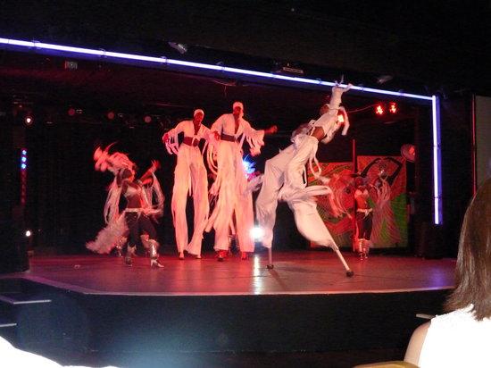Bajan Roots and Rhythms: Stilt Walkers