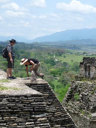 Ocosingo, México: monter en haut...
