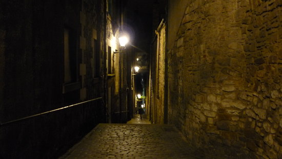 Real Tours Edinburgh : Edimburgo de noche