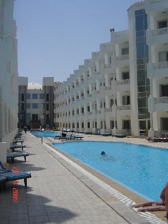 Golden 5 Emerald Resort: The swimming pools.