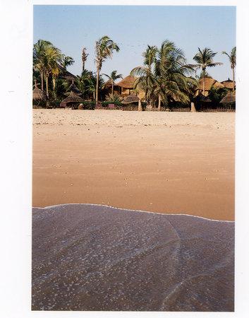 Mbour, السنغال: Le Tama Lodge depuis la plage