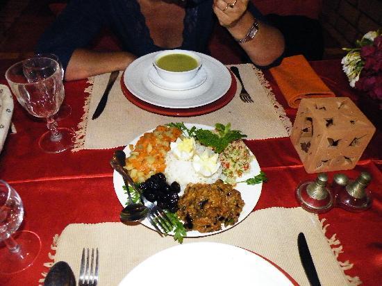 Kasbah Tiwaline: cucina marocchina
