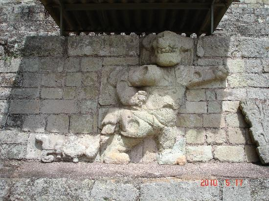 Copan, Honduras: One of the pics I got from the ruins