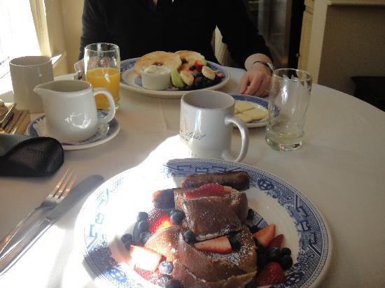 Union Street Inn: Frühstück
