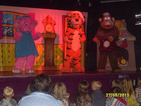 New Quay, UK: Childrens entertainment