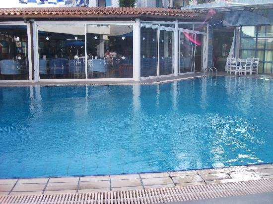 Nereus Hotel: one of the pools at the Nereus