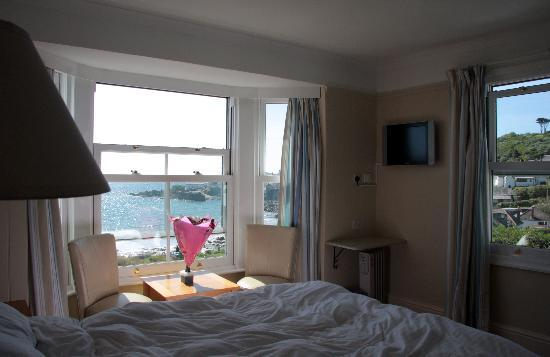 Coverack, UK: View from our room
