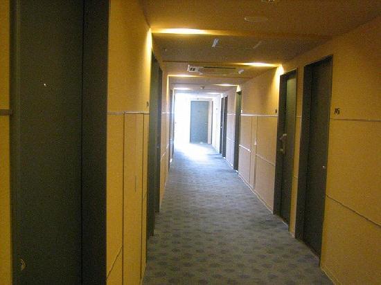 Super Hotel Lohas JR Nara-eki: 普通の廊下