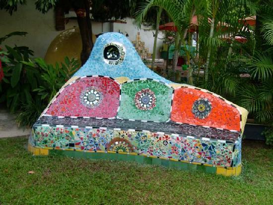 Mosaic Couch Hacienda Mosaico