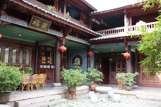 麗江古城三合酒店照片