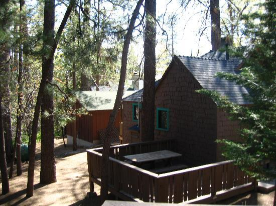 Idyllwild, CA: The cabin next to ours.