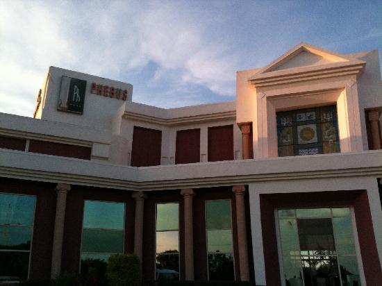 Gammarth, Tunesien: entree de l hotel