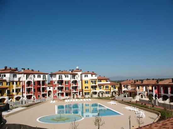 Villaggio Sant'Andrea: villaggio dall'alto di un appartamento