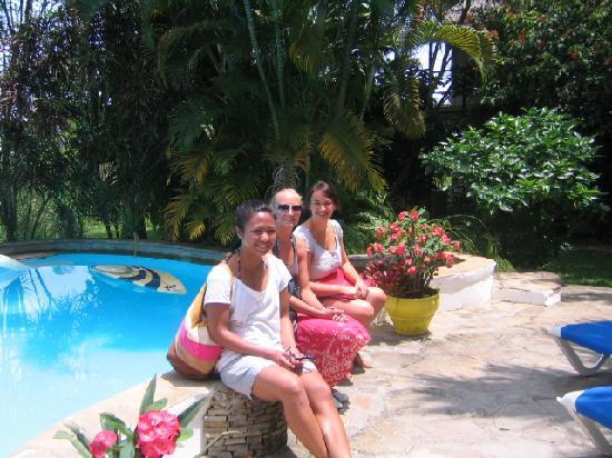 Cabarete Surfcamp: at the pool:)