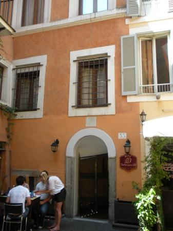 Hotel Teatro Pace: Entrada