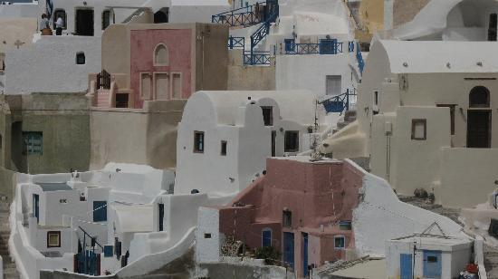 Fotinos Houses: In the center, in white color, Fotinos House