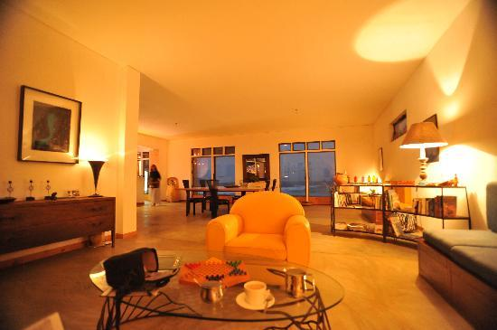 Residencial Goa: Living room