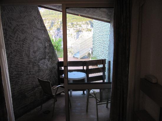 Hotel du Grand Canyon du Verdon : chambre 100 ce qu'il reste de la vue