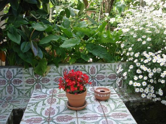 Sant'Agnello, Italy: Table in the garden