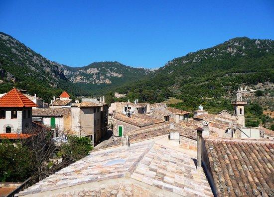 Valldemossa, Espagne : Blick aus Zimmer 8, Es Petit Hotel