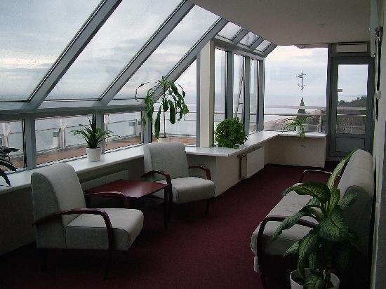 Baltic Beach Hotel & SPA: Wintergarden