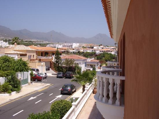 Callaomar : View from bedroom over mainly residential area.