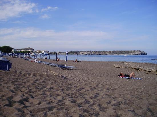 SunConnect Kolymbia Star: The beach.