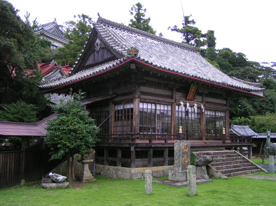 Hirado, Japan: Spezielle Shrine Architektur