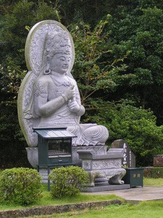 Hirado, Japan: Grosser Buddha im Freien