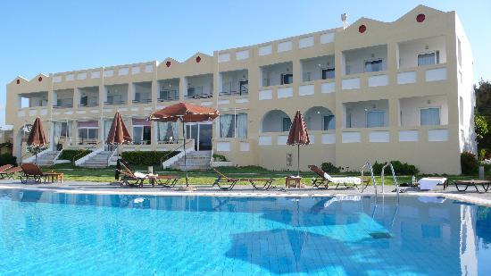 Niforeika, Hellas: Vom Pool her
