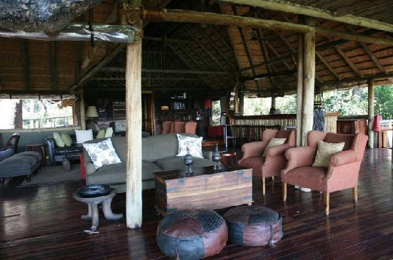 Linyanti Reserve, Botsuana: DumaTau's lounge