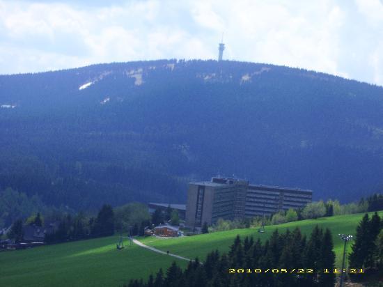 AHORN Hotel Am Fichtelberg: Schöne Landschaft