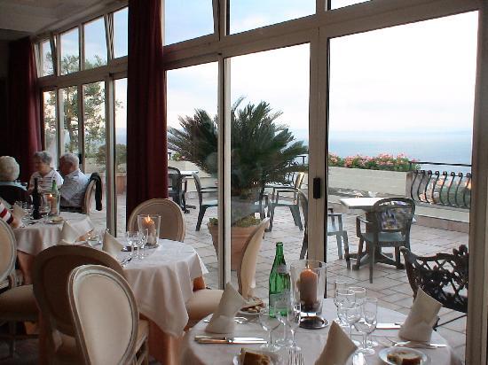 Hotel Cristina: la salle de restaurant