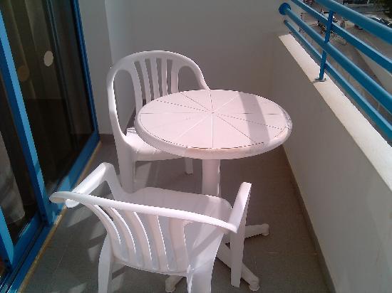 Iliada Beach Hotel: Balcony