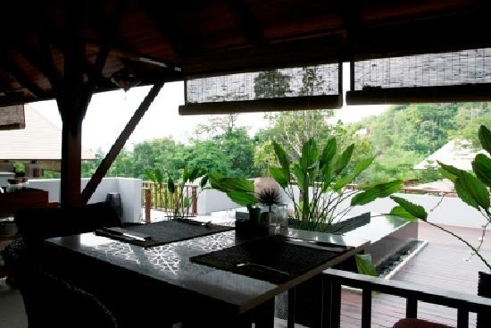 Villa Zolitude Resort and Spa : Villa Zolitude : vue depuis le restaurant