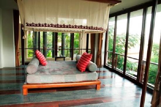 Villa Zolitude Resort and Spa : Villa Zolitude : grand deluxe pool villa salon