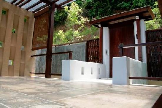 Villa Zolitude Resort and Spa : Villa Zolitude: grand deluxe pool villa : l'entrée
