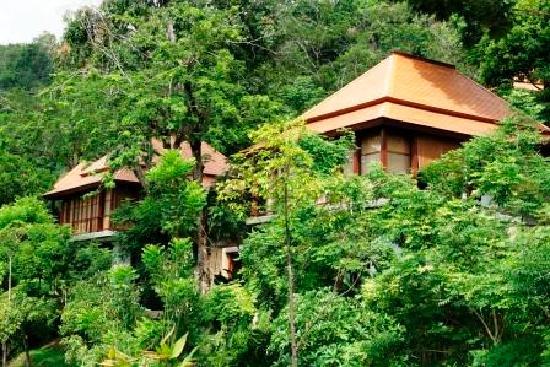 Villa Zolitude Resort and Spa : Villas Zolitude : autre vue des villas