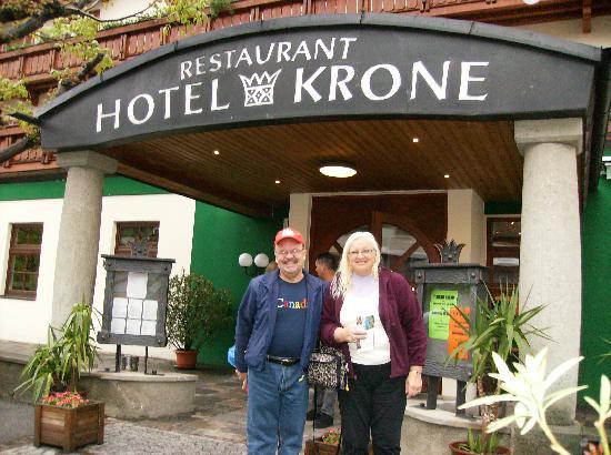Hotel Krone: Entrance