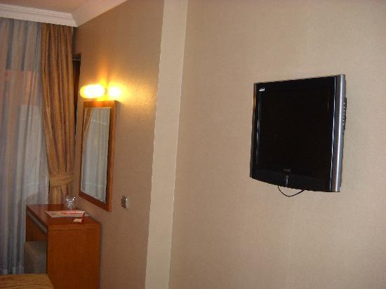 Almer Hotel Ankara: dettaglio camera
