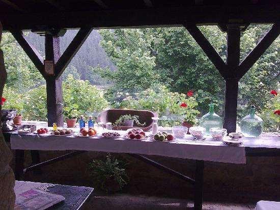 Mendi Goikoa: desayuno