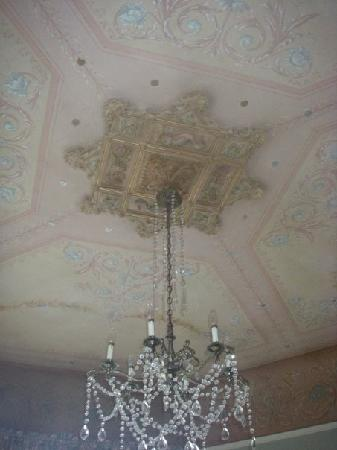 Gatsby Mansion: Hand Painted Ceilings