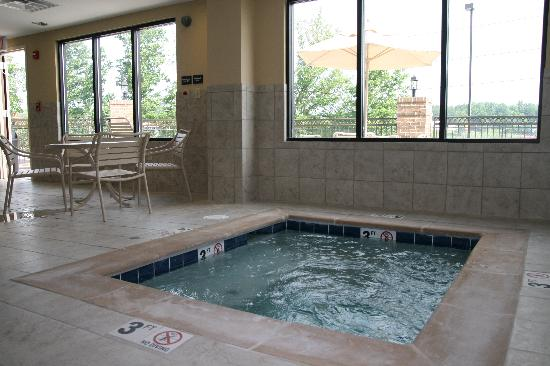 Hampton Inn Dandridge: Spa